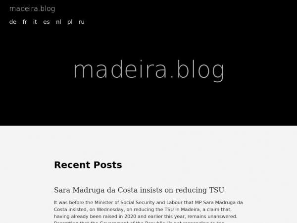 madeira.blog