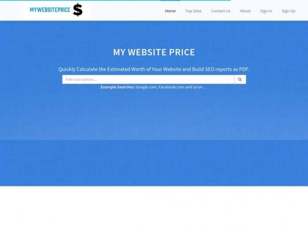 mywebsiteprice.xyz